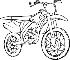 Dessin Moto Cross Coloriagestars Me