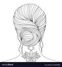 beautiful girl coloring pages. Fine Girl Beautiful Girl Coloring Pages Vector Image On Girl Coloring Pages A