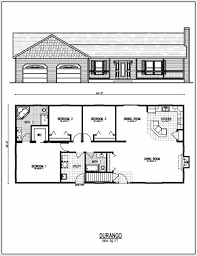 1500 square foot ranch house plans with 2 story walkout basement house plans elegant 100 2000