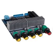 100 W 2,1 Kanal Digital Audio Endstufe Verstärker AMP Subwoofer TPA3116D2 2  x 50 W Receiver & Komponenten Hifi-Verstärker scalafenicia.com