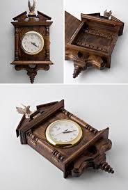 Decorative Key Boxes Wooden Clock Key Box By Wooden Decoration Decorative Boxes 92