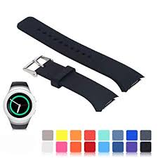 Gear S2 Band Size Chart Feskio For Samsung Gear S2 Sm R720 R730 Watch Replacement Band Accessory Small Large Size Soft Silicone Wristband Strap Smartwatch Sport Band Fit For