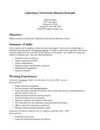 Laboratory Technician Resume Sample Lab Technician Resume New Lab Tech Resume Sample Sfonthebridge 9