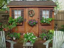 subterranean space garden backyard huts cabins sheds. Is It Possible To Hoard Garden Sheds, Gardening, Outdoor Living, I Love Window Boxes On Sheds Subterranean Space Backyard Huts Cabins N