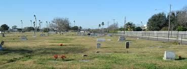 aberdeen cemetery is curly maintained by seaside memorial park corpus christi texas photo is taken standing on the east end and looking westward