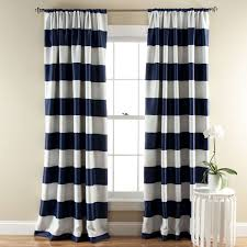 Navy And White Curtains Navy Floral Curtains Best Curtains 2017