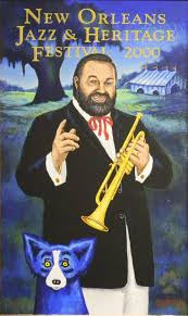 best images about jazz fest posters artworks new orleans jazz heritage festival poster 2000 by george rodrigue featuring al hirt