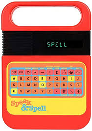 Basic Fun Speak & Spell Electronic Game: Toys ... - Amazon.com