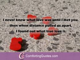 True Love Quotes For Her Mesmerizing True Love Quote for Him from Her ComfortingQuotes