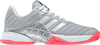 Adidas Tennis Shoes Size Chart Adidas Womens Barricade 2018 Tennis Shoes Size 6 0 Gray