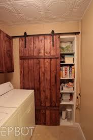 Decor : Exterior Sliding Barn Door Track System Breakfast Nook ...