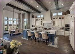 20 Brilliant Open Concept Ideas For Living Room Trenduhome Open Concept Kitchen Living Room Open Concept Kitchen Living Room Layout Open Floor Plan Kitchen