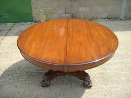 antique furniture warehouse large antique round extending table 5ft round table