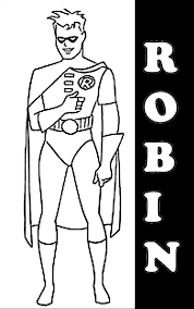 Small Picture 17 Batman and Robin Coloring Pages Superhero printable coloring