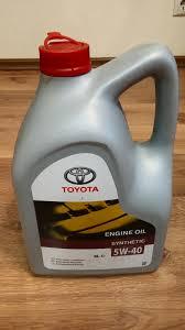 Обзор от покупателя на <b>Моторное масло TOYOTA Engine Oil</b> 5W ...