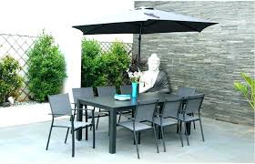 8 person patio dining set 9 piece aluminum outdoor dining set with 8 person round outdoor dining table 8 person outdoor dining table