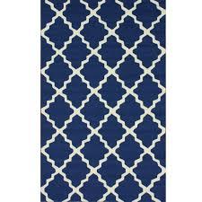navy blue outdoor trellis outdoor rug 4ft x 6ft