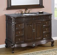 Oak Bathroom Vanity Boston Loft Furnishings Brettshire Oak Saddle - Oak bathroom vanity cabinets