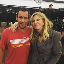 Ordinary Adam Sandler Christmas Party Part - 5: Watch Adam Sandler Sing  With Courtney Love
