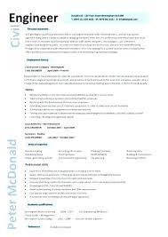 Building Engineer Resume Inspiration Resume Design Examples Structural Engineer Format Lead Test Sample