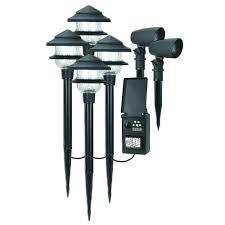 Low Voltage Tester For Landscape Lighting Duracell Low Voltage Landscape Lighting Kit Walmart