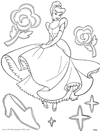 Cinderella Coloring Pages Coloring Pages For Kids Disney