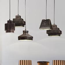 vintage ceramic pendant lights fixture rust brown single droplight country retro cafes pub bar restaurant