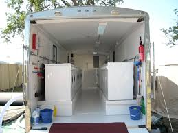 Mobile Laundry Trailer Rentals - Luxury portable bathrooms
