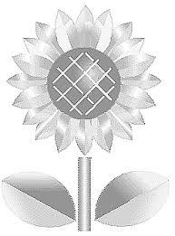 ひまわり向日葵イラスト素材背景 素材屋じゅんひまわりのアイコン