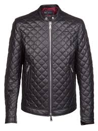 Lyst - Dsquared² Quilted Leather Jacket in Black for Men & Gallery Adamdwight.com