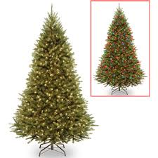 3' Battery Operated Pre-Lit LED Pine Artificial Christmas Tree - Multi  Lights - Walmart.com