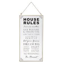 50x25cm inspiration wall hanging plaque