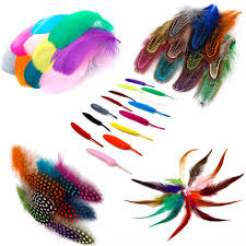 <b>50pcs</b> Mix <b>Color Feather</b> Ostrich/Goose/Chicken Pheasant <b>Feather</b> ...