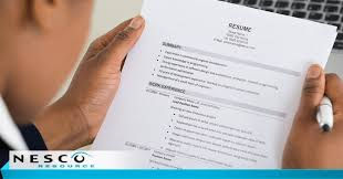 The Importance Of Using Keywords In Your Resume Nesco
