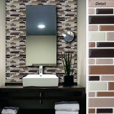 cool adhesive bathroom wall tiles most lovable sticky tiles for kitchen gallery with l and stick