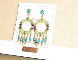 stella dot katelyn chandelier earrings new original rv 49