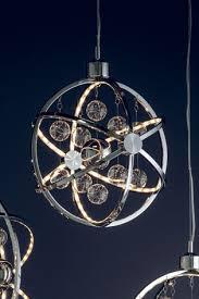 moory chrome pendant light by