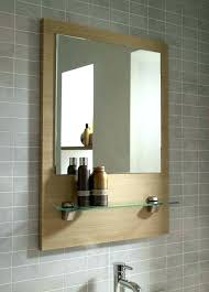 Bathroom Mirror Shelfcool Bathroom Mirrors White Bathroom Mirror