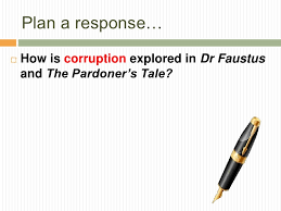 comparing dr faustus and the pardoner s tale essay 4