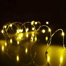 Led Lampjes Snoer Geel Cr2032