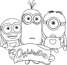 Small Picture Coloring Pages To Print Minions Coloring Pages