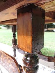 Stripping Dining Room Table Refinishing A Dining Tablea Tutorial Beckwith39s Treasures