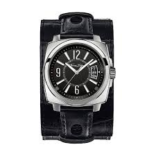 thomas sabo men s rebel at heart leather cuff watch watches from men 039 s rebel at heart leather cuff watch