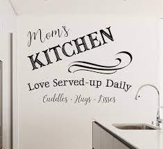 kitchen quote decal mom s kitchen