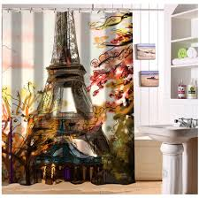 eiffel tower bathroom decor  online get cheap paris shower aliexpresscom alibaba group