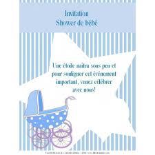 invitation shower garcon