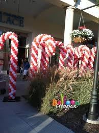 Candy Cane Theme Decorations San Diego Birthday Decor by Balloon Utopia 30