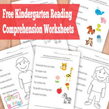 Kindergarten Reading Comprehension Worksheets - Itsy Bitsy FunKindergarten Reading Comprehension Worksheets