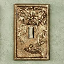 antique switch plates. Interesting Antique Michelia Single Switch Antique Gold Leaf Throughout Plates I