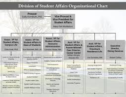 Student Life Org Chart Student Affairs Organizational Chart Student Affairs